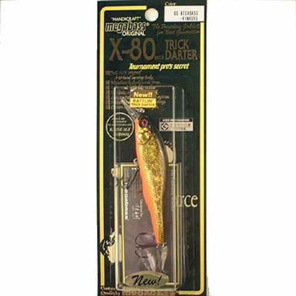 メガバス(Megabass) X-80 TRICK DARTER(X-80 トリックダーター) ミノー