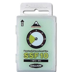 GALLIUM(ガリウム) SSF10【滑走ワックス】 JA-4966 50g グリーン