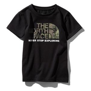 THE NORTH FACE(ザ・ノースフェイス) S/S CAMO LOGO TEE(ショートスリーブ カモ ロゴ Tシャツ キッズ) NTJ31992