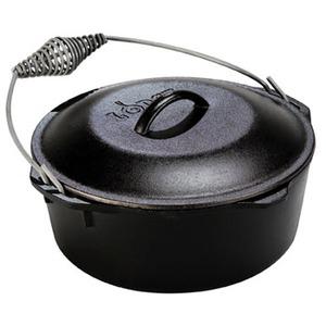 LODGE(ロッジ) LOGIC 10 1/4 インチキッチンダッチオーブン L8DO3 ダッチオーブン