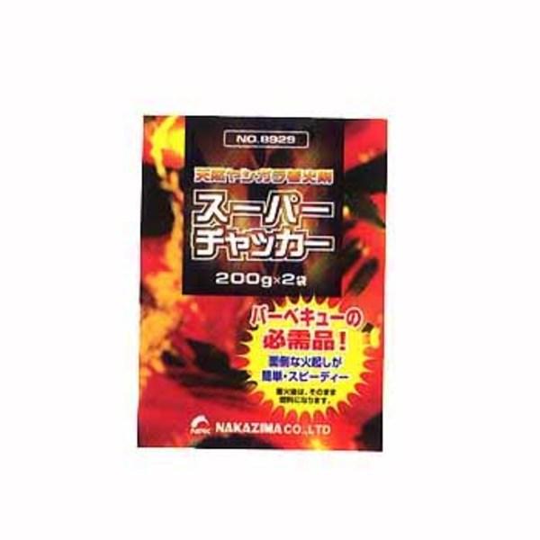 ナカジマ スーパーチャッカ-【天然ヤシガラ着火剤】 着火剤