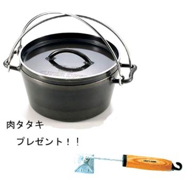 ユニフレーム(UNIFLAME) ダッチオーブン12インチスーパーデイープ【プレゼント付】 ダッチオーブン