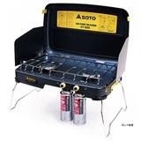 SOTO ハイパワーツーバーナー ST-525 ガス式