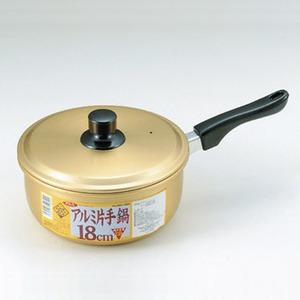パール金属 クックオール アルミ片手鍋 18cm H-1890