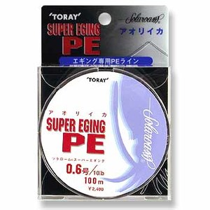 東レモノフィラメント(TORAY) ソラローム スーパーエギング PE 100m エギング用PEライン