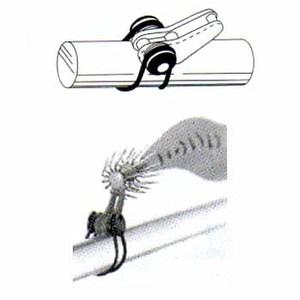 富士工業(FUJI KOGYO) ルアー用フックキーパー EHKM-PU ルアー用フィッシングツール