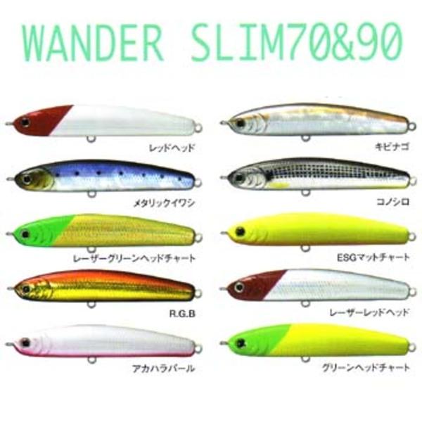 ラッキークラフト(LUCKY CRAFT) WANDER(ワンダー) スリム シンキングペンシル