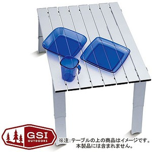 【送料無料】GSI outdoors(ジーエスアイ) マイクロテーブル L 11871918000007