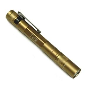 GENTOS(ジェントス) LEDペンライト・フルークス シャンパンゴールド
