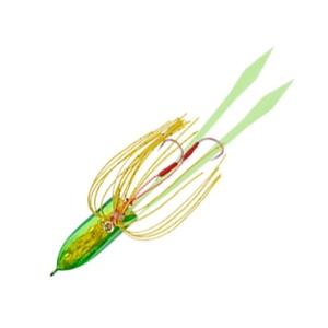 DAMIKI JAPAN(ダミキジャパン) まうすりん鯛バージョン 80g #09 ゴールドホロ/グリーン