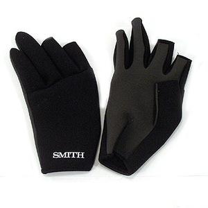 アウトドア&フィッシング ナチュラムスミス(SMITH LTD) ネオプレングローブ S ブラック