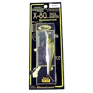 メガバス(Megabass) X-80 TRICK DARTER(X-80 トリックダーター) M AYU