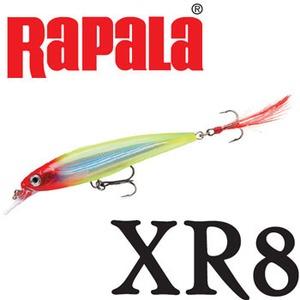 Rapala(ラパラ) XR8 X-RAP XR8