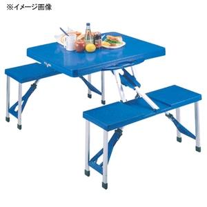 キャプテンスタッグ(CAPTAIN STAG) アルミピクニックテーブル ブルー M-8421