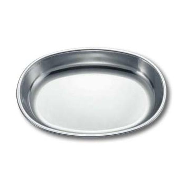 キャプテンスタッグ(CAPTAIN STAG) ワイルドウェイ 18-8ステンレス小判型カレー皿 M-8064 ステンレス製お皿