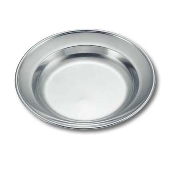 キャプテンスタッグ(CAPTAIN STAG) ワイルドウェイ 18-8ステンレス丸型カレー皿22cm M-7282 ステンレス製お皿
