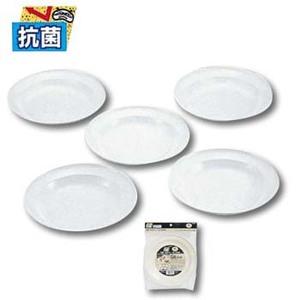 キャプテンスタッグ(CAPTAIN STAG) 抗菌 丸型カレー皿22cm5枚組 M-9519 テーブルウェアセット