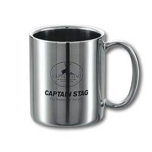 キャプテンスタッグ(CAPTAIN STAG)パラオ ダブルステンマグカップ310ml