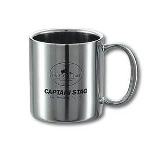 キャプテンスタッグ(CAPTAIN STAG)パラオ ダブルステンマグカップ220ml