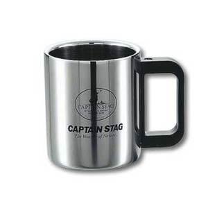 キャプテンスタッグ(CAPTAIN STAG)マレー ダブルステンマグカップ310ml