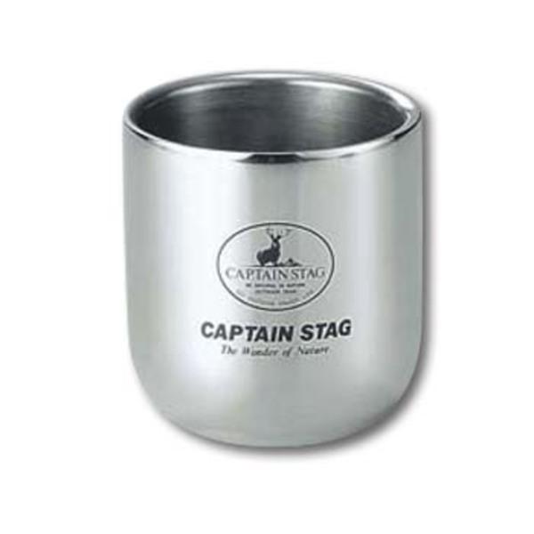キャプテンスタッグ(CAPTAIN STAG) 18-8ダブルステンタンブラー280ml M-9682 ゆのみ&タンブラー
