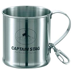 キャプテンスタッグ(CAPTAIN STAG)レジェルテ ステンレスマグカップ300ml(スナップ付)
