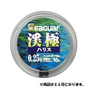 クレハ(KUREHA) シーガー 渓極 50m 0.6号 クリア