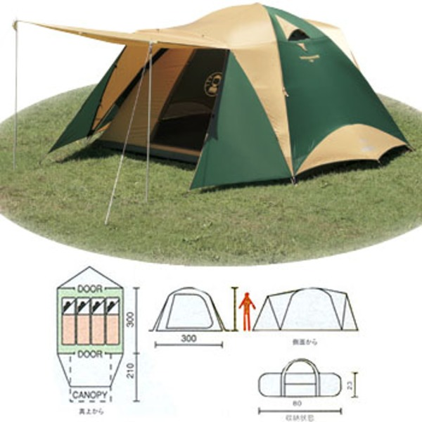 Coleman(コールマン) タフワイドドームテント300EX 170T8150J ファミリードームテント
