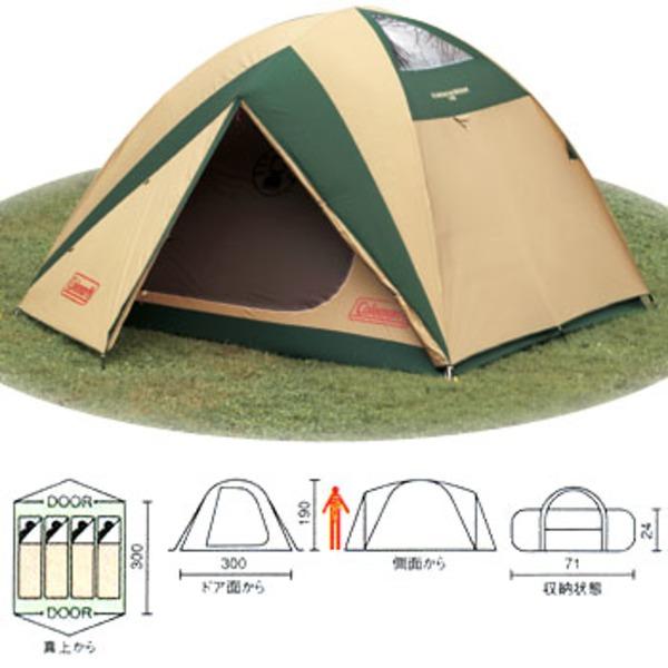 Coleman(コールマン) BCライトドームテント300スカイルーフ【旧モデル】 170T8250J ファミリードームテント