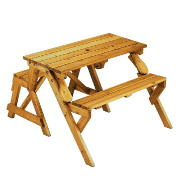 Coleman(コールマン) ミニガーデンウッドテーブル&ベンチ 170-5797 テーブル・チェアセット
