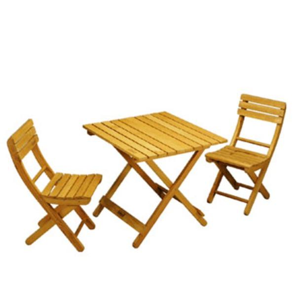 Coleman(コールマン) ガーデンウッドファニチャーセット 170-5792 テーブル・チェアセット