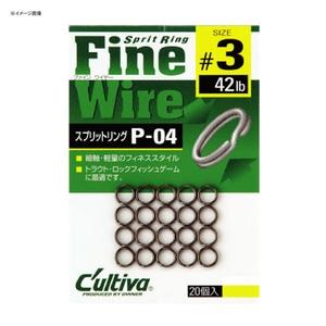 オーナー針 スプリットリングファイン P-04 NO.72804