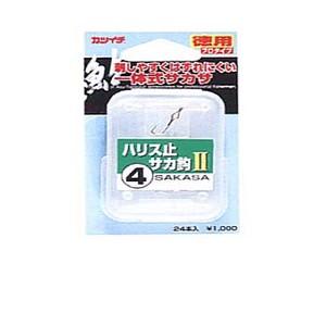 カツイチ(KATSUICHI) ハリス止サカ釣II プロタイプ(24本入) 3号