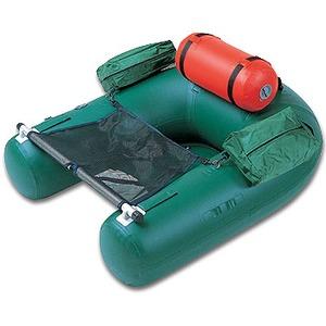 ジョイクラフト(JOYCRAFT) フィッシングフロートJU-3CK ダイナキール・リジットフレックス付き 1名/内寸80 グリーン