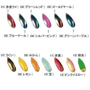 FOREST(フォレスト) フォレスト MIU(ミュー) 1.5g 01(赤金ラメ)