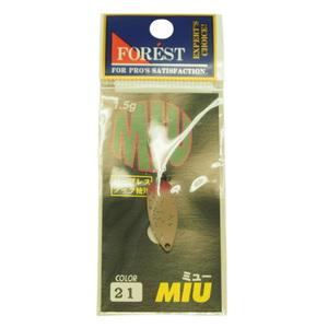 FOREST(フォレスト) フォレスト MIU(ミュー) 1.5g 21(ブドウ虫(青ラメ入り))