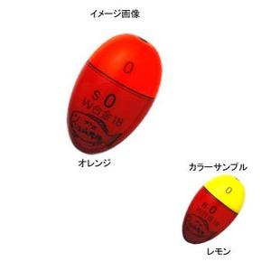 プロ山元 プロ山元 ウキ W-18 合金 Sタイプ -2B レモン