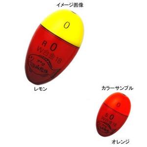 プロ山元 プロ山元 ウキ W-18 合金 Rタイプ 4B オレンジ