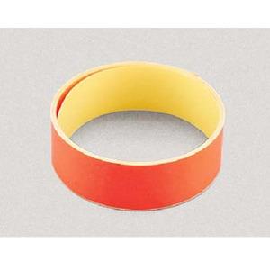 ノーブランド Y-8217 蛍光テープ 赤