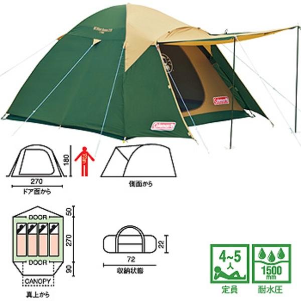 Coleman(コールマン) BCバイザードーム /270 170T15000R ファミリードームテント