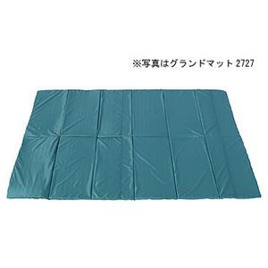 【送料無料】ogawa(小川キャンパル) グランドマット1522 ダークグリーン×ブラック 3845