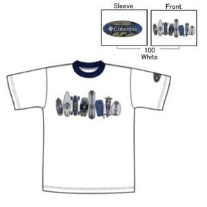 Columbia(コロンビア) ビンテージボードスポーツTシャツ K's S 100(White)