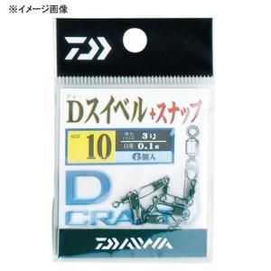 ダイワ(Daiwa) Dスイベル+スナップ 徳用 07108844 スイベル