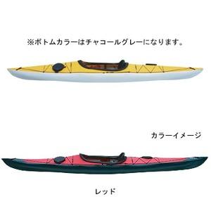 【送料無料】フジタカヌー(FUJITA CANOE) 370 SWIFT(スウィフト) D:レッドB:チャコールグレー PE-1