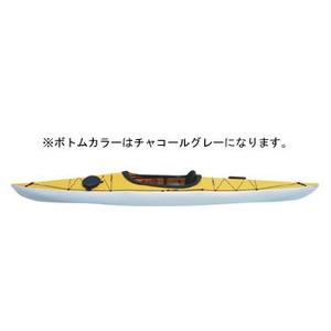 【送料無料】フジタカヌー(FUJITA CANOE) 370 SWIFT(スウィフト) D:イエローB:チャコールグレー PE-1