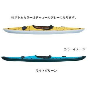 【送料無料】フジタカヌー(FUJITA CANOE) 370 SWIFT(スウィフト) D:ライトグリーンB:チャコールグレー PE-1