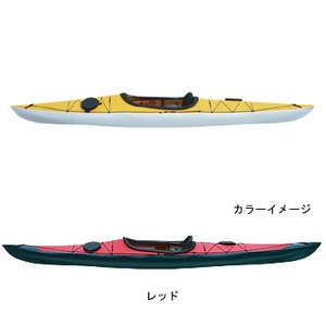 【送料無料】フジタカヌー(FUJITA CANOE) 370 SWIFT(スウィフト) D:レッドB:ホワイト PE-1