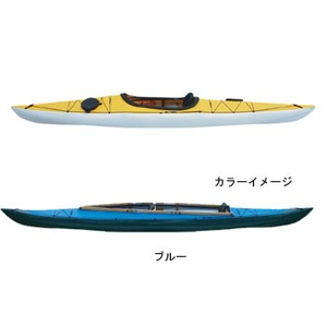 【送料無料】フジタカヌー(FUJITA CANOE) 370 SWIFT(スウィフト) D:ブルーB:ホワイト PE-1