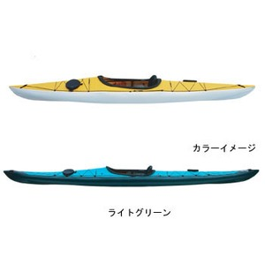【送料無料】フジタカヌー(FUJITA CANOE) 370 SWIFT(スウィフト) D:ライトグリーンB:ホワイト PE-1