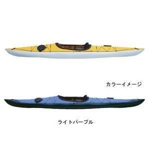 【送料無料】フジタカヌー(FUJITA CANOE) 370 SWIFT(スウィフト) D:ライトパープルB:ホワイト PE-1
